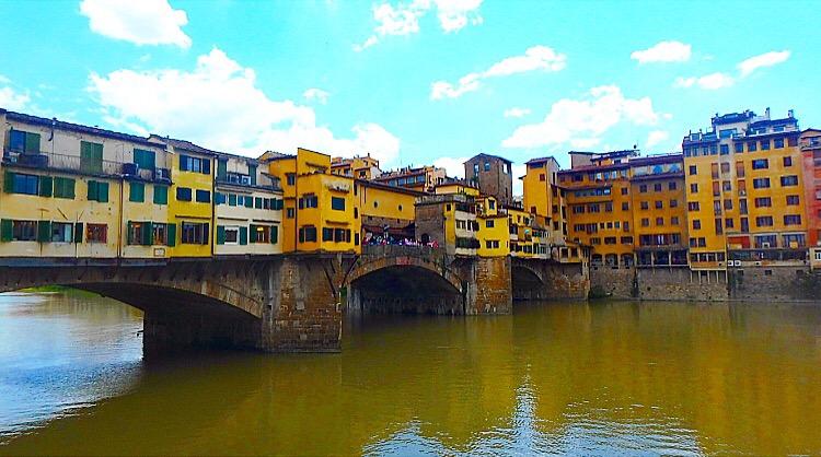 フィレンツェ ベッキオ橋近くの美味しいパスタランチ