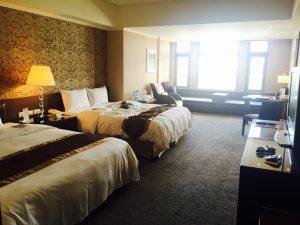 初めての海外旅行におすすめ 台湾のホテルは安くて広い