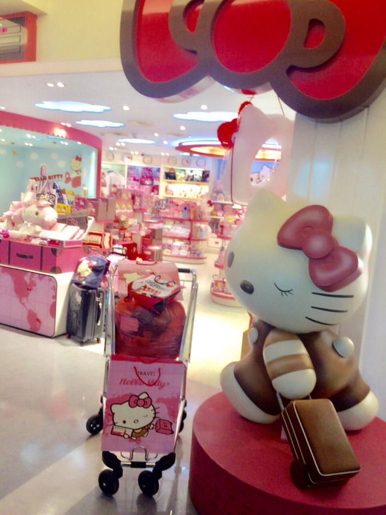 台湾桃園空港キティーちゃんのお店が可愛すぎる