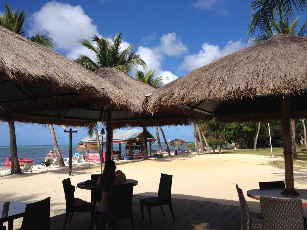 カノアリゾート Kanoa Resort Saipan ビーチBAR