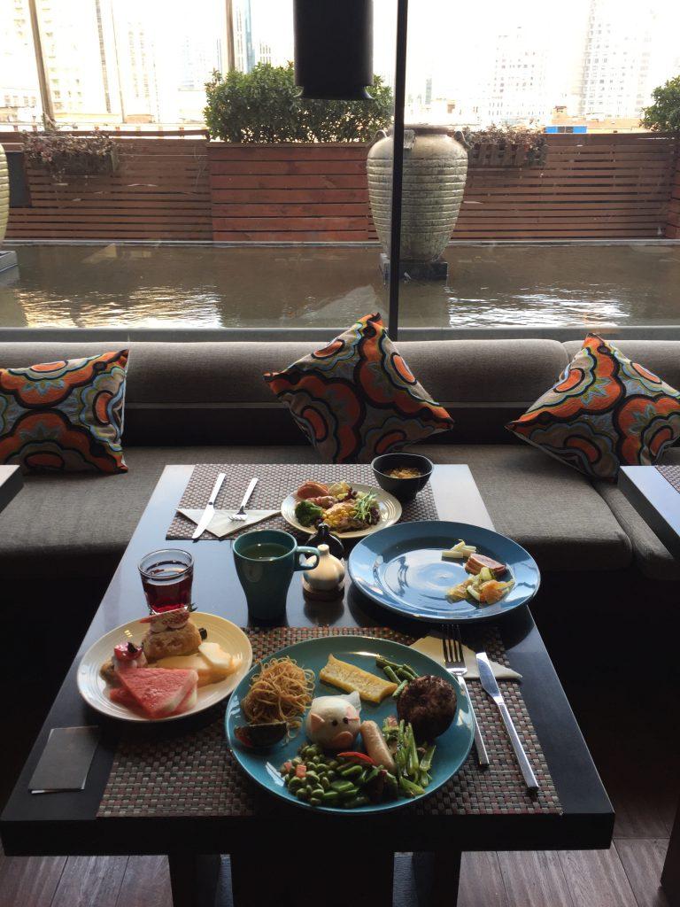 上海の外灘側でおすすめのホテル 朝食