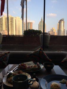 上海旅行 外灘でおすすめのホテル 朝食ビュッフェ