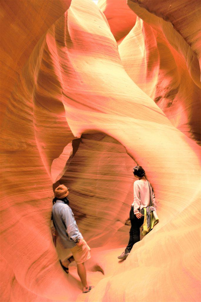 絶景のアンテロープキャニオン アメリカ横断旅行ブログ