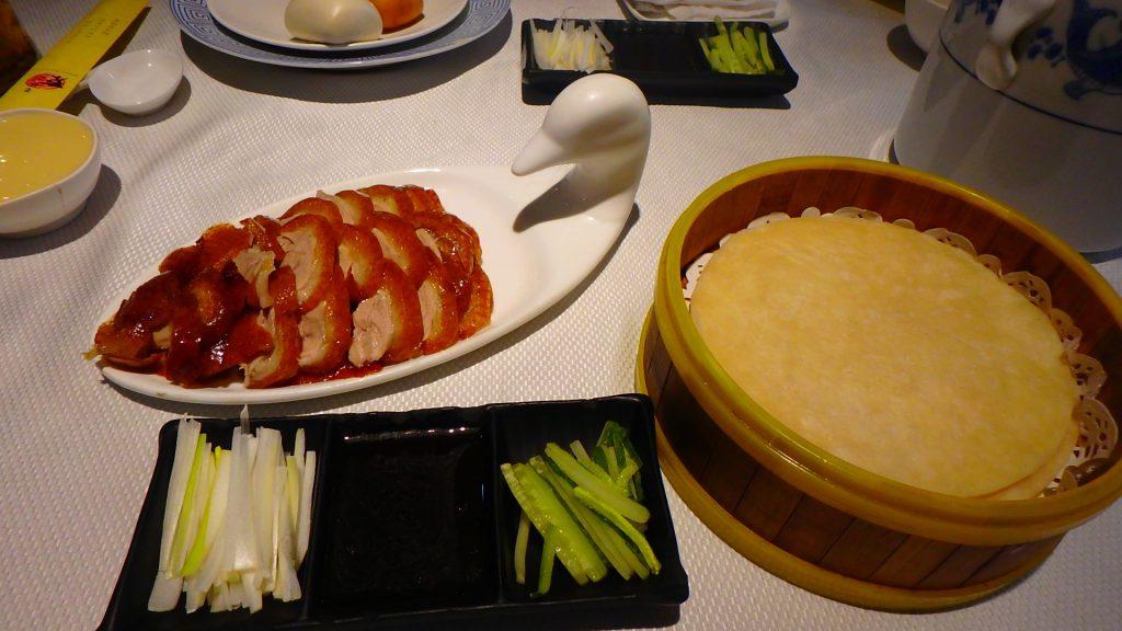 美味しい北京ダックが上海でも食べられます