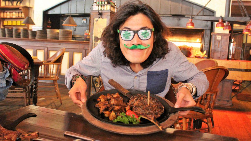 アメリカ横断の旅 テキサスで肉を食べる!