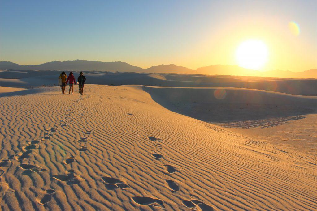 アメリカ横断旅行 素晴らしい絶景 White sands