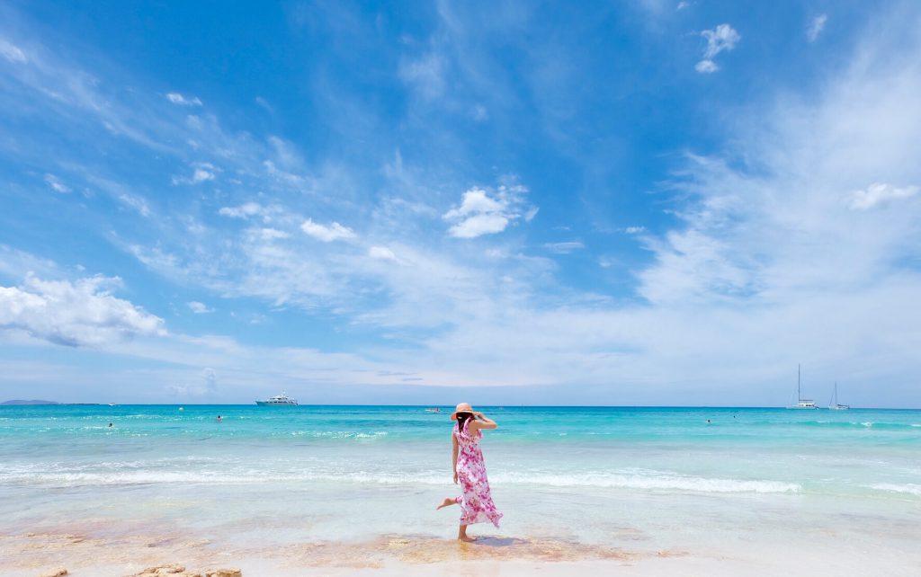 マヨルカ島で一番綺麗なビーチ エス トレンク(Es Trenc)
