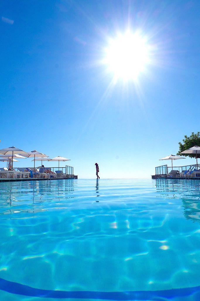 スペイン・マヨルカ島 ジュメイラホテルのプール