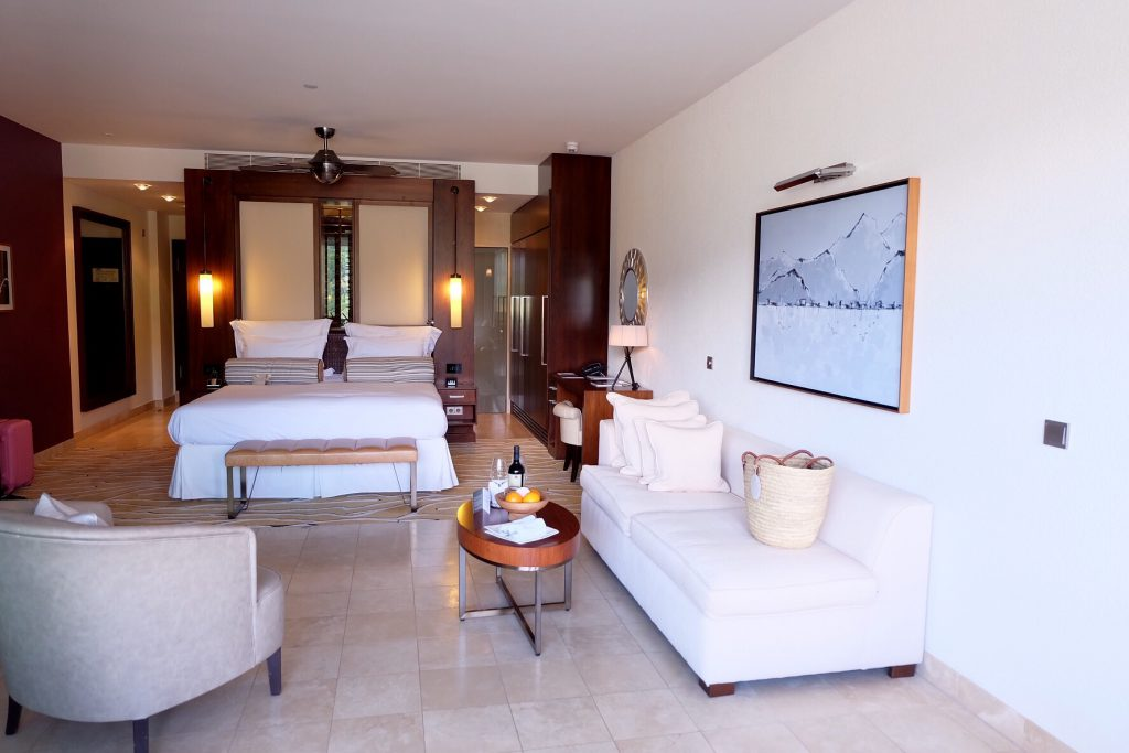 マヨルカ島ジュメイラホテル 宿泊記 お部屋の内装