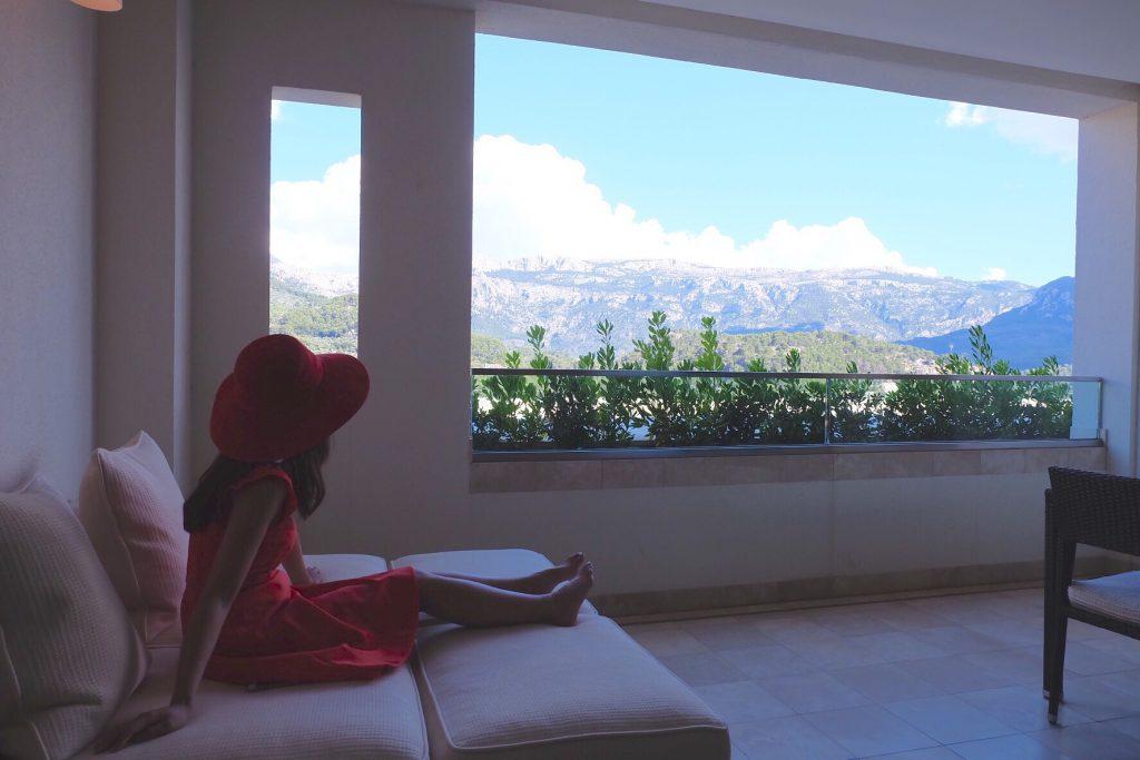マヨルカ島ジュメイラホテル マウンテンビュールーム