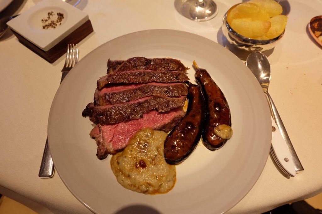 モナコの美味しいレストラン Le Louis XV(ル・ルイ・キャーンズ)