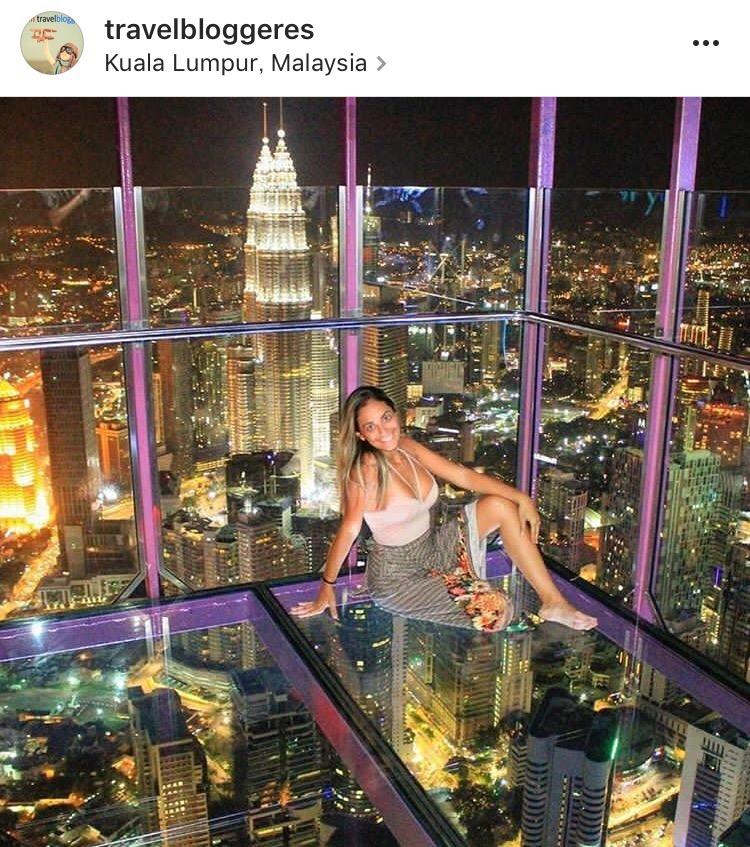 マレーシア1日弾丸旅行 ツインタワー夜景と絶景