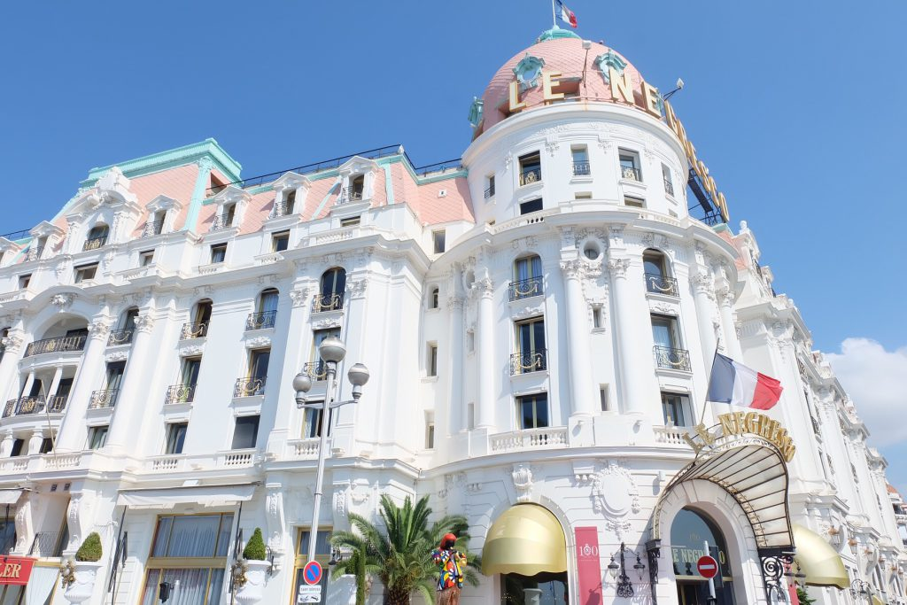 フランスニースのホテル Negresco (ネグレスコ) 宿泊記