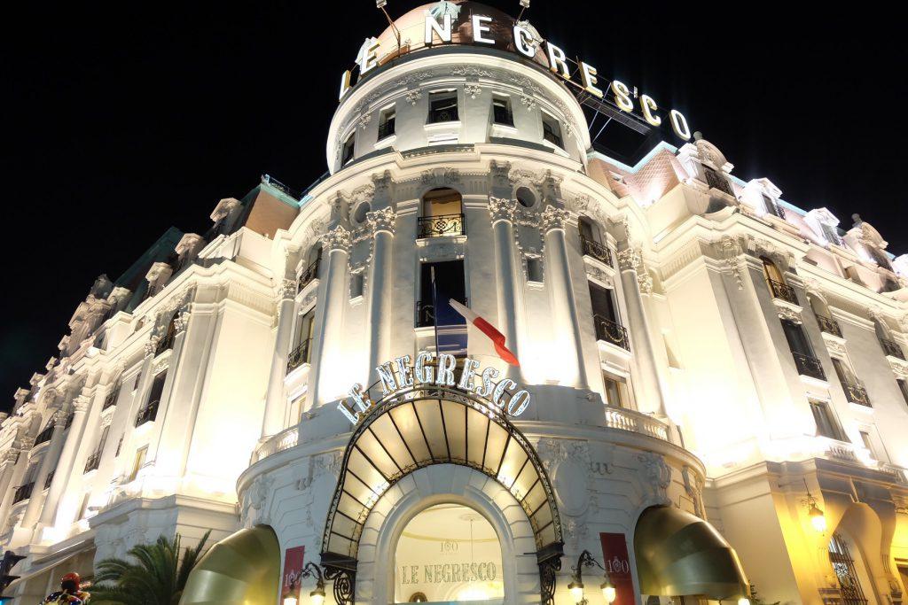 フランス・ニース 一番有名なホテル ル ネグレスコ