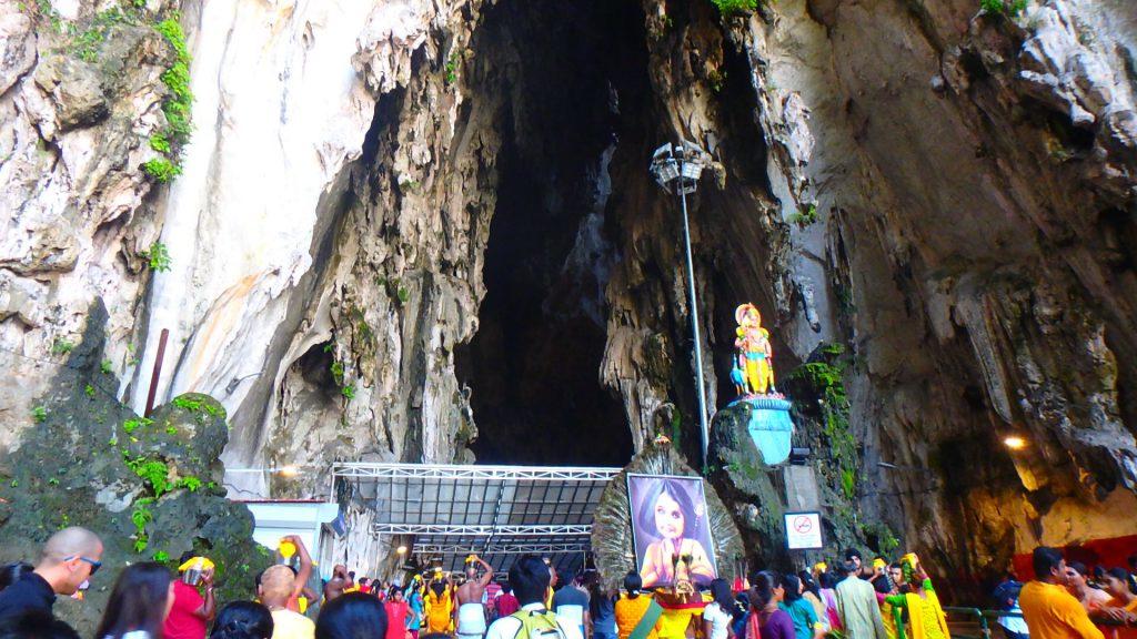 マレーシア1日弾丸旅行 バトゥ洞窟 岩