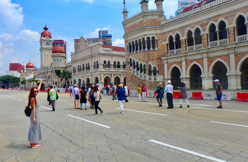 マレーシア ムルデカ・スクエアはヨーロッパ風