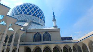 初めての海外旅行におすすめ マレーシア観光 ブルーモスク