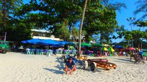 プーケット パトンビーチの砂浜