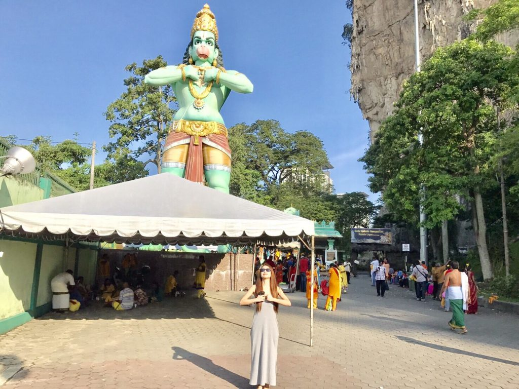 マレーシア1日弾丸旅行 バトゥ洞窟
