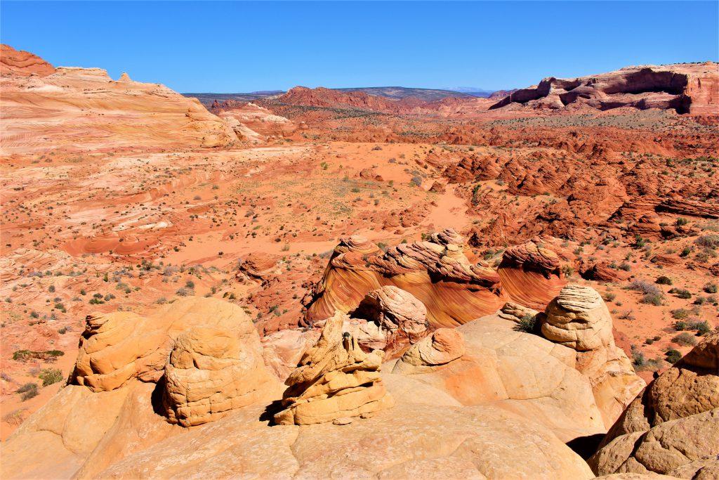 アメリカ横断 絶景THE WAVE!頂上からの景色