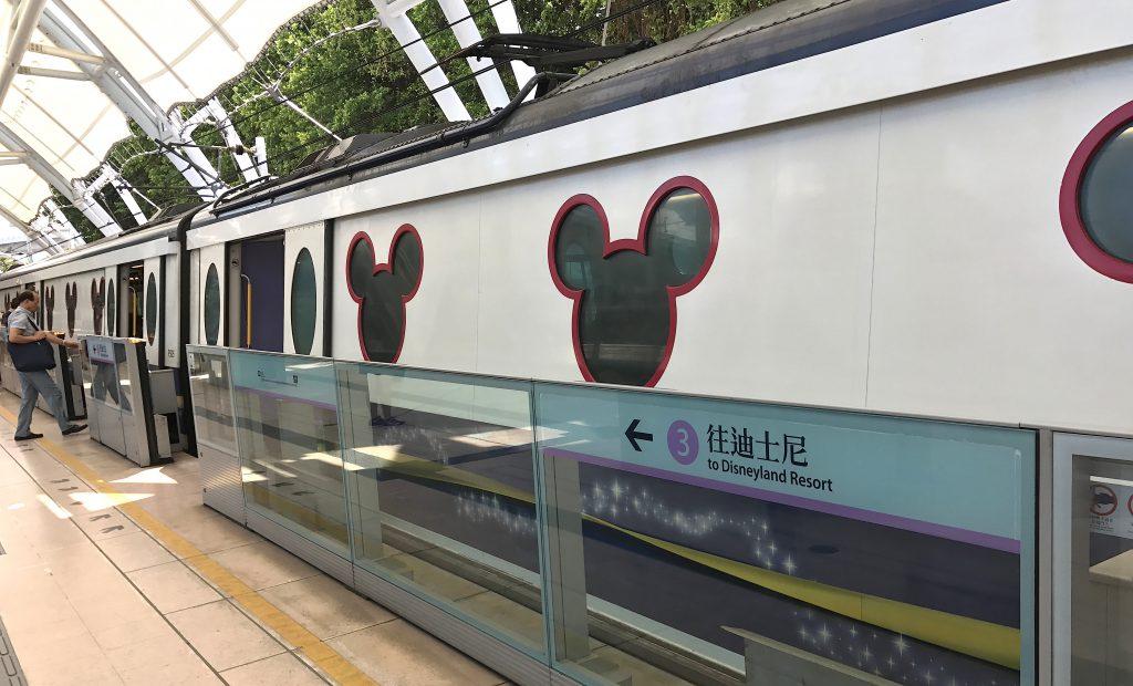 香港ディズニーランド 空港からも近く好アクセス