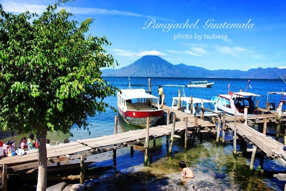 世界一美しい湖 グアテマラ