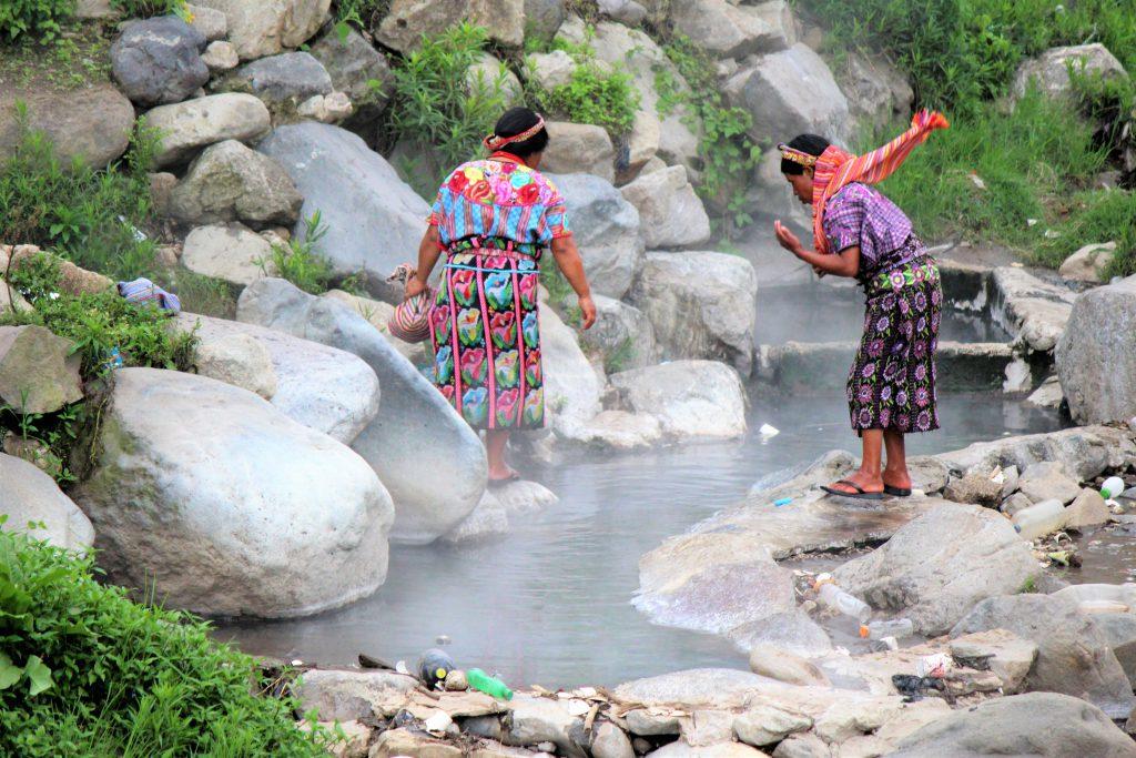 冬休みの海外旅行にオススメの国 グアテマラの温泉