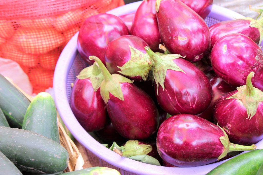 中米グアテマラ 野菜が新鮮で水々しい