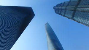 初めての海外旅行におすすめの国 上海の高層ビル展望台