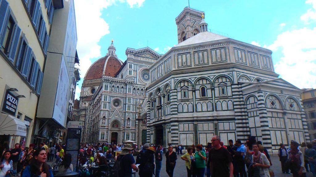 フィレンツェおすすめ観光 ドゥオーモ 洗礼堂