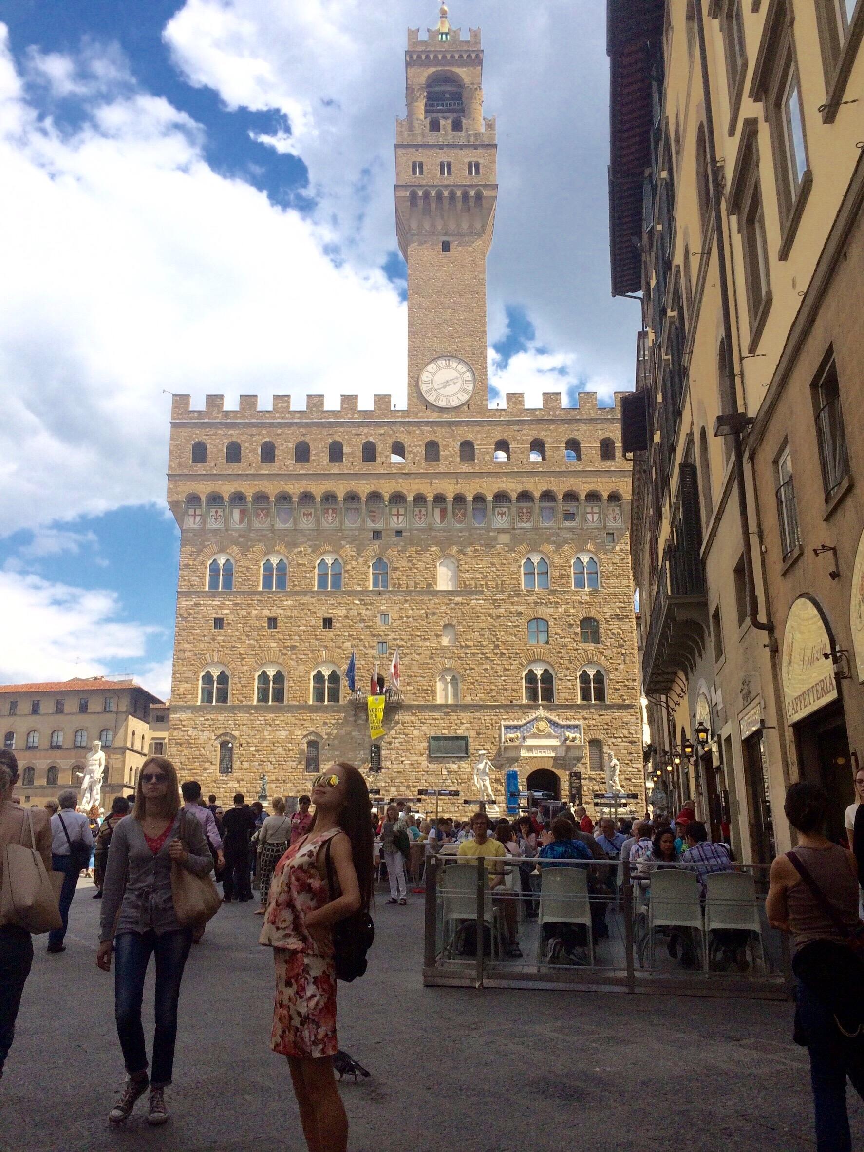 フィレンツェおすすめ観光 ヴェッキオ宮殿