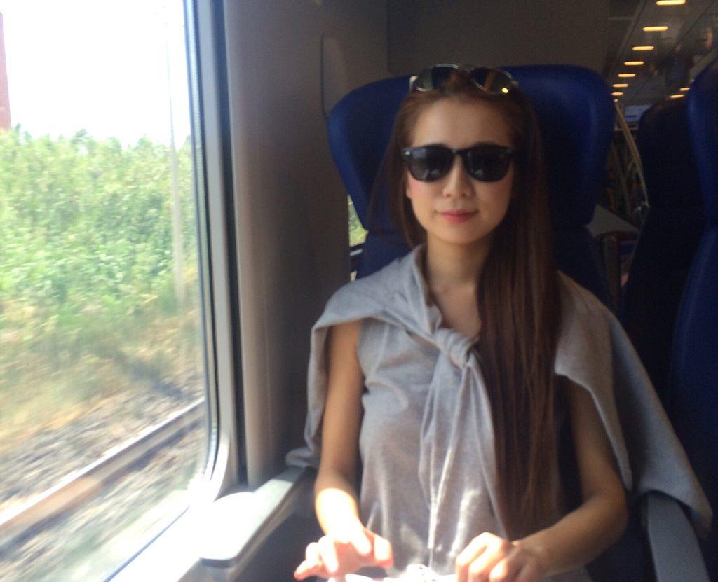 ローマからフィレンツェ 電車旅行 italo イタロ