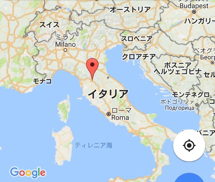 フィレンツェって」どこ? 場所とmap