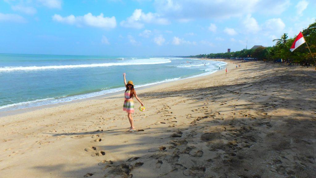 バリ島クタビーチ サーフィン初心者におすすめ