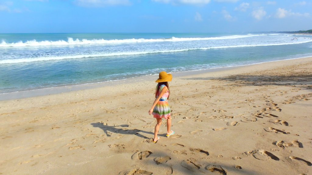 バリ島旅行の女子の服装 リゾートワンピース