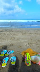 バリ島 クタビーチ 海が汚い?