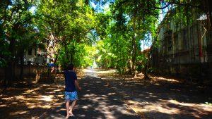 バリ島クタ 街中にも自然が残るローカル感