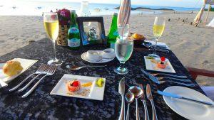 バリ島クタ 海が見える絶景レストラン フレンチ