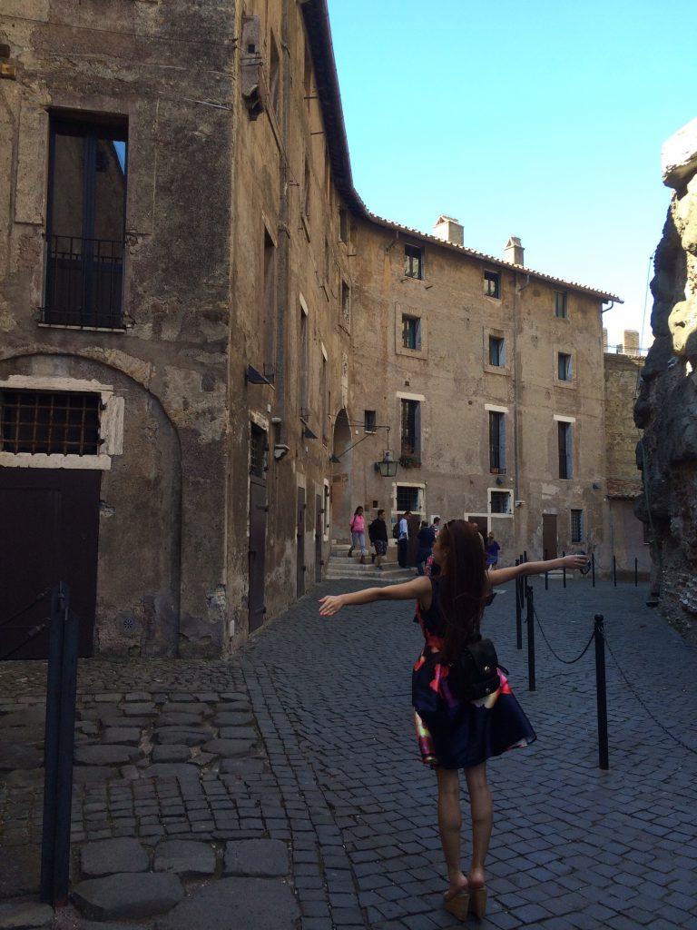 ローマ観光 サンタンジェロ城観光 女子旅ブログ
