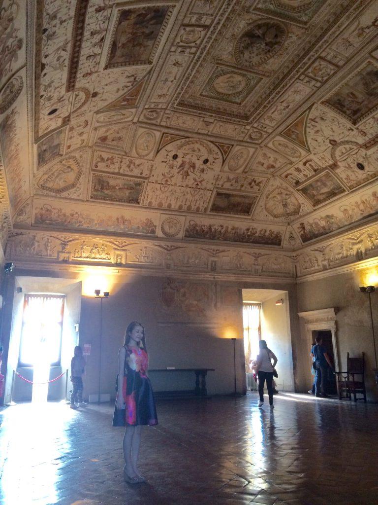 ローマおすすめ観光 サンタンジェロ城の内部 旅行記ブログ