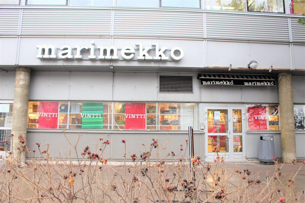 フィンランド ヘルシンキ マリメッコ