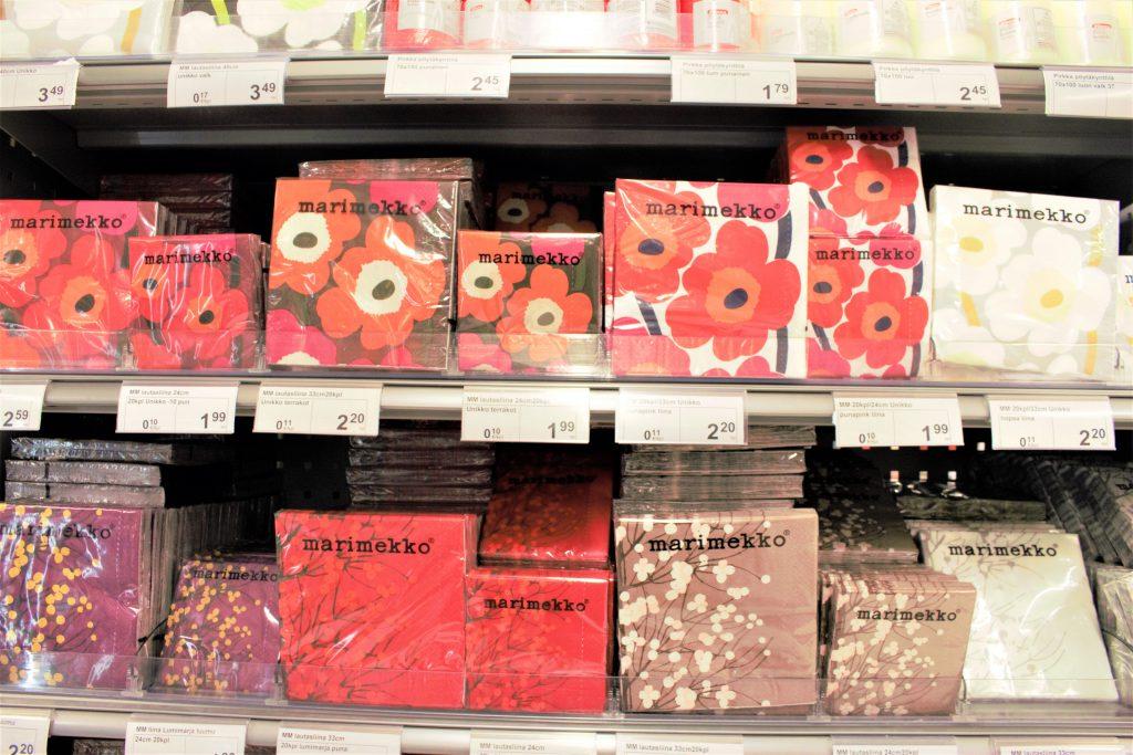 フィンランド スーパーマーケット マリメッコ お土産