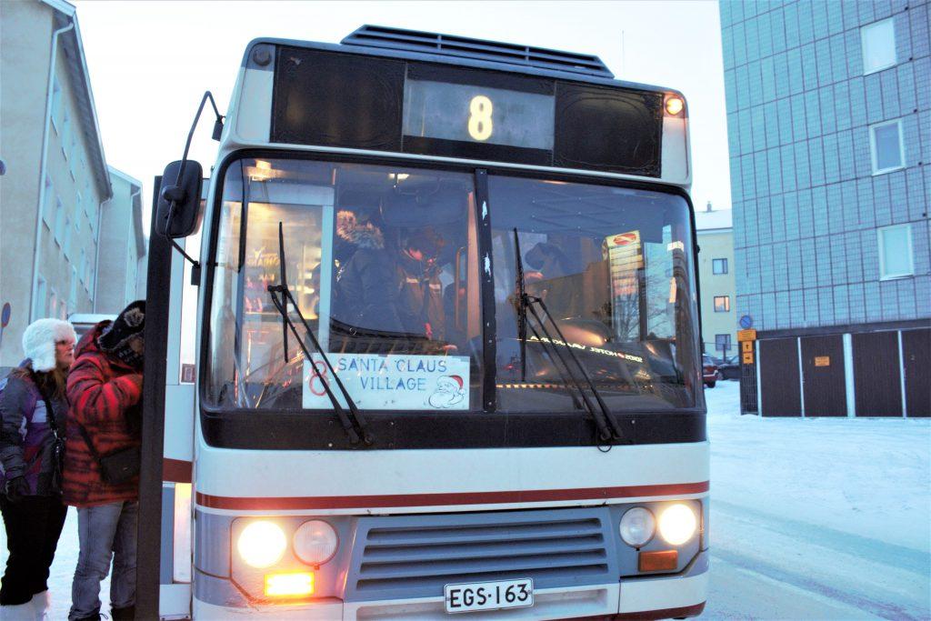 サンタクロース村 行き方 バス