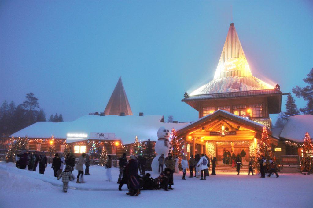 冬の海外旅行にオススメ フィンランドのサンタクロース村