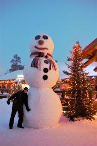クリスマスのフィンランド旅行 サンタクロース村