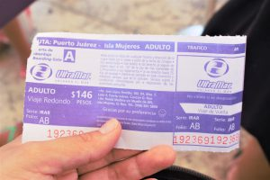 イスラ・ムヘーレス (isla_mujeres) 行きのチケット