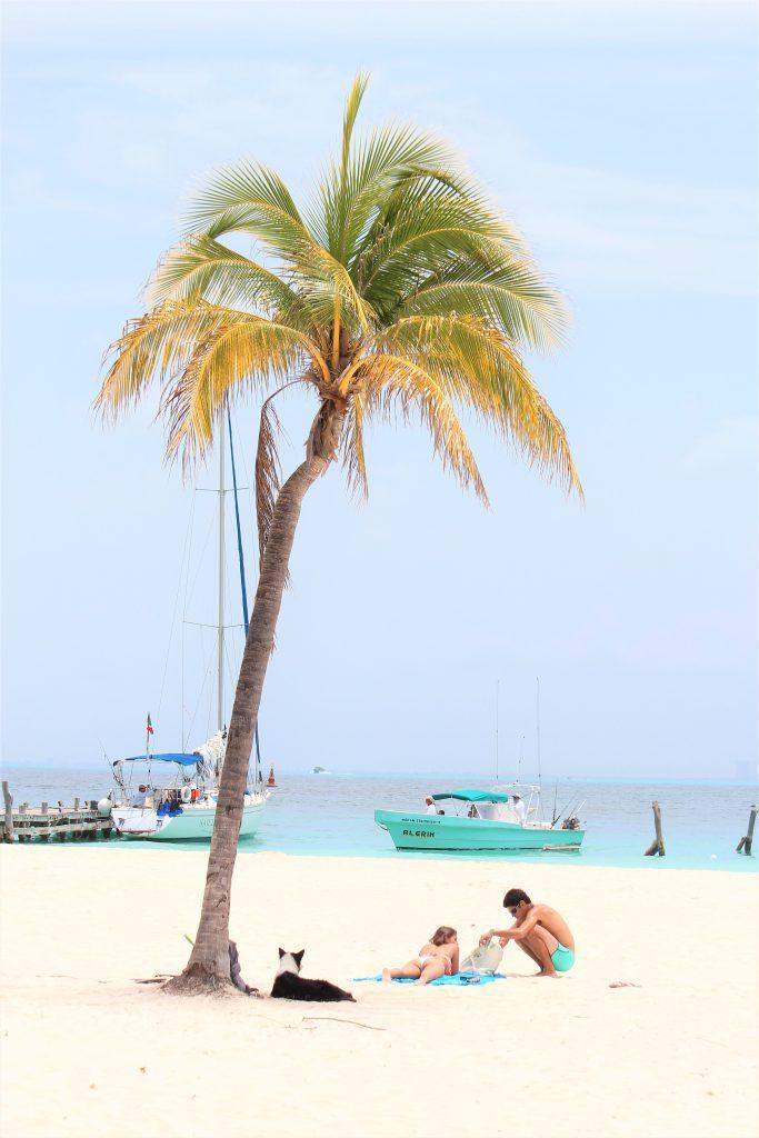 メキシコ カンクン ビーチ