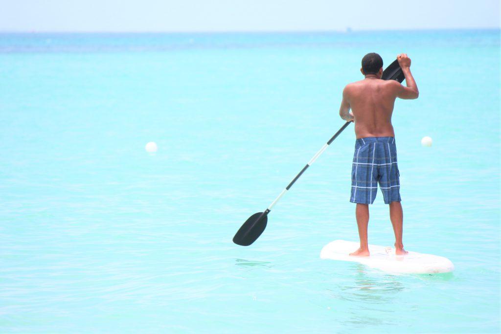 プラヤデルカルメン 海が綺麗