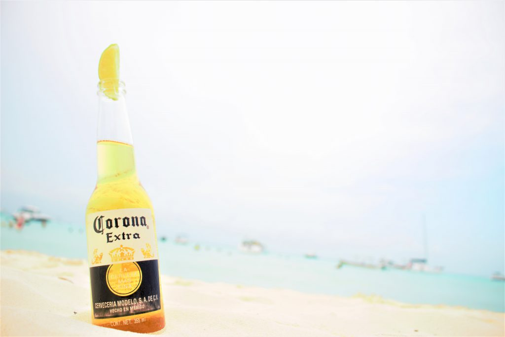 メキシコのビーチでコロナ! インスタ映え抜群のビーチ