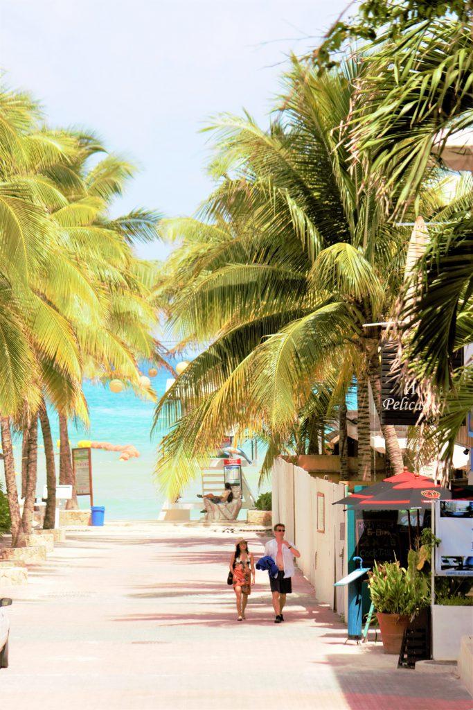 コスメル島 おすすめの街 プラヤデルカルメン